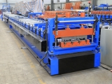 floor decking roll forming machine untuk profil yx50-200-600