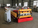floor decking roll forming machine untuk profil yx76-320-960