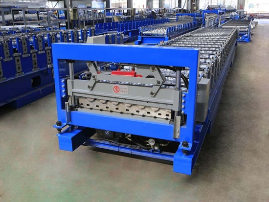YX36.5--780 Corrugated Steel Panel Roll Forming Machine