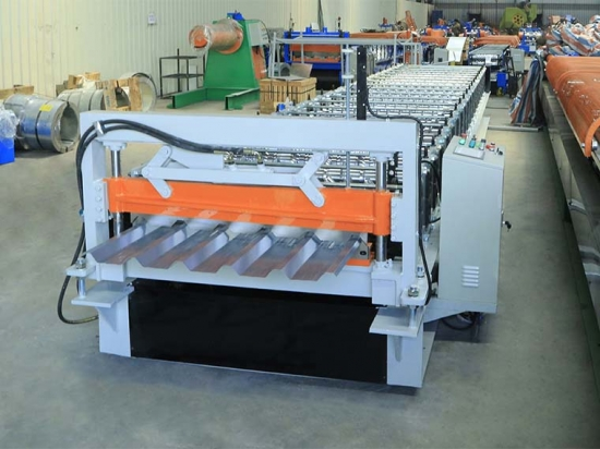 Roof Panel Roll Forming Machine For YX35-200-1000